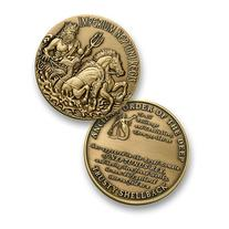 Trusty Shellback Challenge Coin