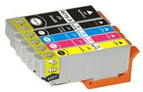 TS 5-PK T273XL Remanufactured compatible ink cartridges for