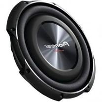 """PIONEER TS-SW2502S4 10"""" 1,200-Watt Shallow Subwoofer with"""