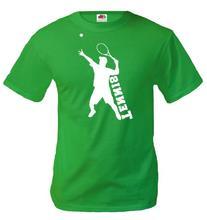 buXsbaum T-Shirt Tennis-L-Kellygreen-White