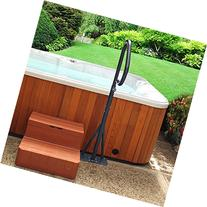 Hot Tub Handrail - Spa Side Safety Rail with Slide-under