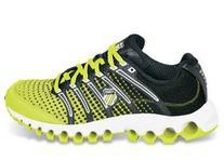 K-Swiss Tubes Run 100 Neon Citron/Black Dot Fade 92281377
