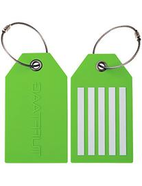TUFFTAAG Personalized Luggage Tag Set - Customized PVC