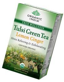 Organic India Tulsi Green - 18 Tea Bags  HerbalStore_24*7