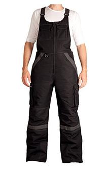 Arctix Men's Tundra Ballistic Bib Overall, Black, 4X-Large