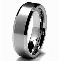 6MM Tungsten Satin Men's Wedding Band Ring Sz 9.5