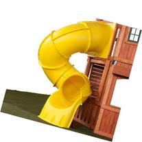 5 Ft Turbo Tube Slide Yellow