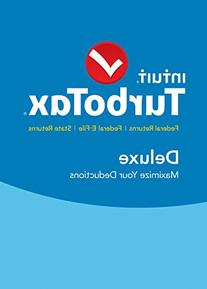TurboTax Deluxe 2015 Federal + State Taxes - Tax Preparation