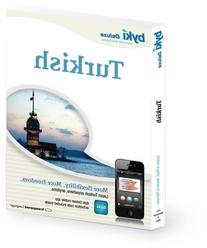 Turkish Before You Know It Deluxe Language Learning Software