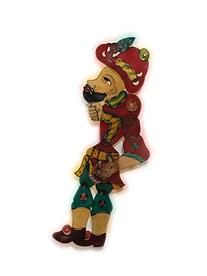 Turkish Shadow Theatre Leather Puppet Characters
