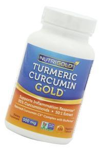 Nutrigold Turmeric Curcumin Gold , 500 mg, 240 veg. capsules