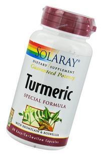 Turmeric Special Formula Solaray 60 Caps