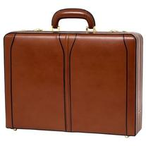 McKleinUSA TURNER 80484 Brown Leather Expandable Attache