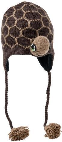 Nirvanna Designs CHTURTLE Turtle Hat with Fleece , Brown, 5