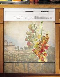 Tuscan Grapes Large Dishwasher Cover