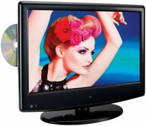 DPI INC LED TV & DVD Combo, 13-In