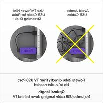 Roku Mini USB Cable Designed to Power Your Roku Streaming
