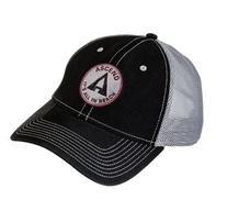 Ascend Twill Circle Logo Cap - Black