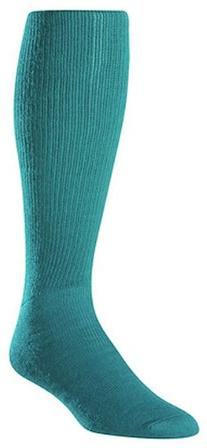 Twin City Acrylic Baseball Tube Sock, Teal, Large