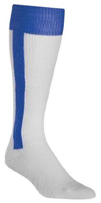 Twin City Youth Two-In-One Stirrup Socks, Maroon