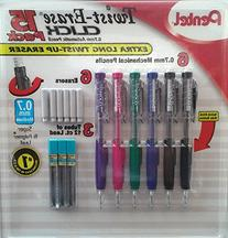 Twist-Erase Click 15 Pack, Contains  0.7mm Automatic Pencils