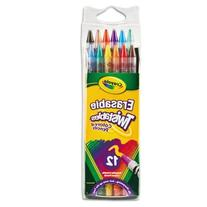 Crayola® Twistables® Erasable Colored Pencils 12-Pack