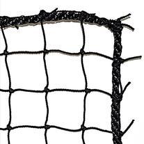 JFN #36 Twisted Knotted Nylon Baseball Backstop Net, 10' x