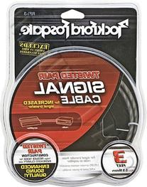 Rockford Fosgate Twisted Pair 3-Feet Signal Cable