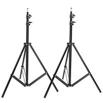 Neewer Two Aluminum Photo/Video Tripod Light Stands For