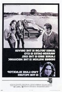Two Lane Blacktop Poster Movie B 27 x 40 In - 69cm x 102cm