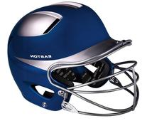 Easton Natural Two-Tone Junior Batting Helmet with Mask,