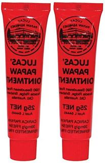 Two Tubes of Lucas' Papaw Ointment 25g