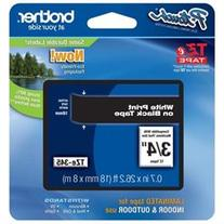Brother TZ Lettering Label Tape - 0.70 Width x 26.25 ft