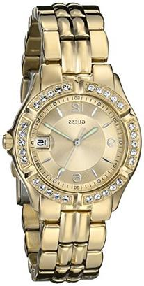 GUESS Women's U85110L1 Dazzling Sporty Mid-Size Gold-Tone