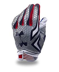 Under Armour Men's UA Swarm Texas Flag Football Gloves Small