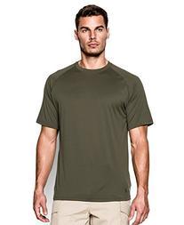 Under Armour Men's Tactical Tech Shirt, Marine OD Green,