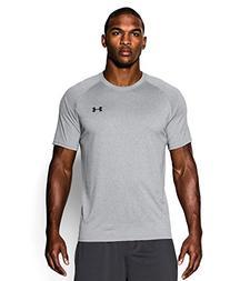 Under Armour Men's Tech Short Sleeve T-Shirt, True Gray