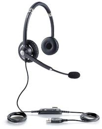 Jabra UC VOICE 750 MS Duo  Lync Optimized Corded Headset for
