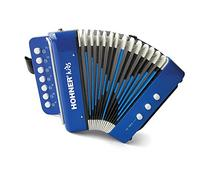 Hohner UC102B Toy Accordion Blue Retail Box Includes