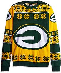 Klew Ugly Sweater Green Bay PACKERS, X-Large
