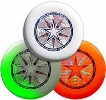Discraft 175g Ultimate Disc Bundle  White, Orange & Glow