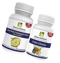 Colon Care and Garcinia Cambogia By Naturo Sciences, All