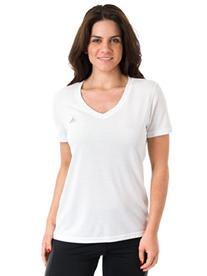 adidas Performance Women's Ultimate Short-Sleeve V-Neck Tee