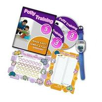 Ultimate Potty Training for Boys Complete Kit Includes Potty