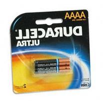 Duracell® Ultra Alkaline Batteries, AAAA, 2/pack