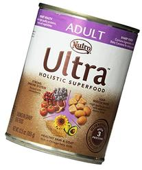 Ultra Adult Chunks in Gravy Canned Dog Food, 12.5-Ounce,
