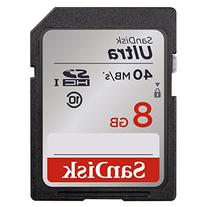 SanDisk Ultra 128GB Class 10 SDXC Memory Card Up To 40MB/s-