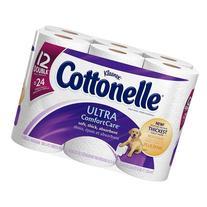 Cottonelle Ultra Comfort Care Toilet Paper Double Rolls 166