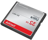 SanDisk Ultra 32GB CompactFlash Memory Card Speed Up To 50MB