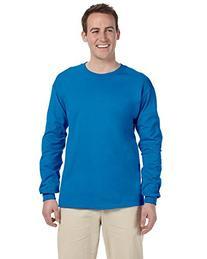 Gildan Ultra Cotton 6 oz. Long-Sleeve T-Shirt, Small,